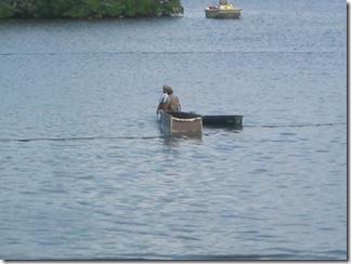 Bimini Bay seine netting