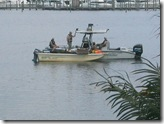 FWC patrol check commercial fishermen