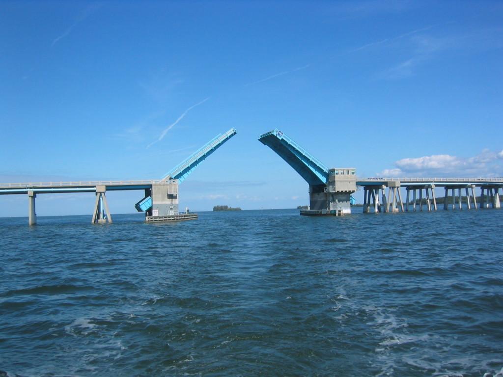 Anna Maria Bridge opening