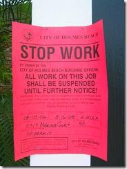 Stop Work - No Permit