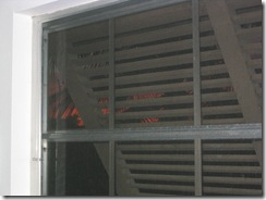 Jalousie windows and Bermuda shutters