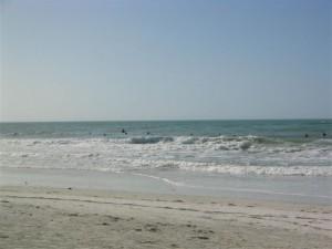 Anna Maria Island beach break surf