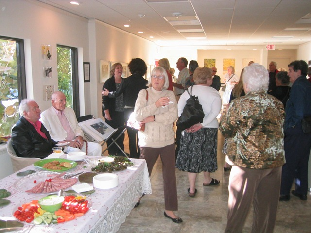 The Studio at Gulf and Pine art reception