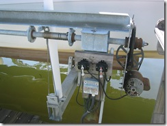 Boatlift motor
