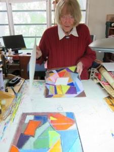 Helen Romeike-Wisniewski in studio