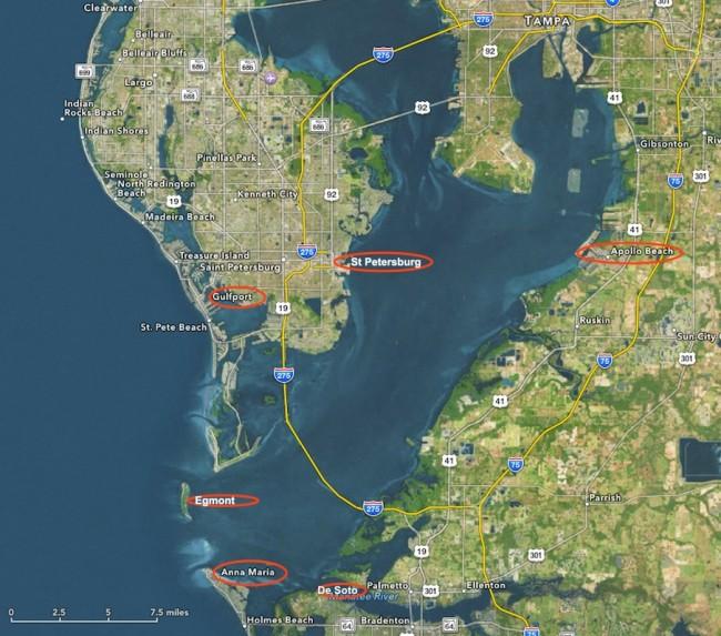 Anna Maria Island Sailing Tampa Bay