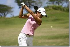 Lady-golfing
