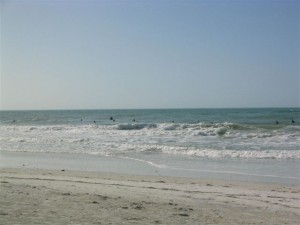 Anna Maria Island beach break surf