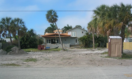 Short sale house being remodeled