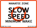 slow speed zone