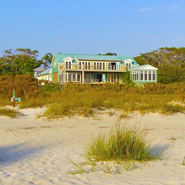 New home Anna Maria Island beach